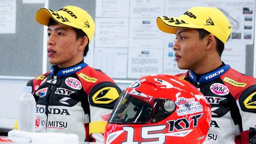 Bùi Duy Thông lên ngôi ở giải đua xe Motor Châu Á - 8