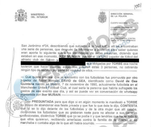 NÓNG Euro: De Gea nhắn tin dàn xếp mua dâm cho 5 sao MU - 4