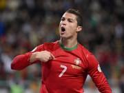 Bóng đá - Euro trước giờ G: Ronaldo, ĐT Anh đắt giá nhất