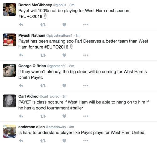Báo giới ca tụng, fan ngạc nhiên Payet đá cho West Ham - 2