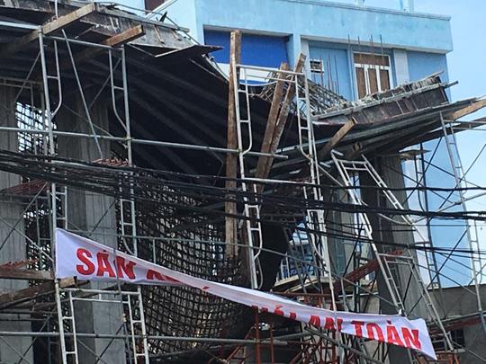 Sập giàn giáo ở Vũng Tàu: 2 người mắc kẹt đã tử vong - 5