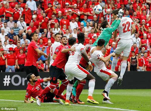 Video Albania vs Thụy Sỹ - 1