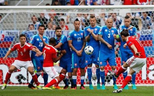 Video Xứ Wales vs Slovakia - 1