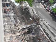 Tin tức trong ngày - Vẫn còn 2 công nhân kẹt dưới giàn giáo sập ở Vũng Tàu