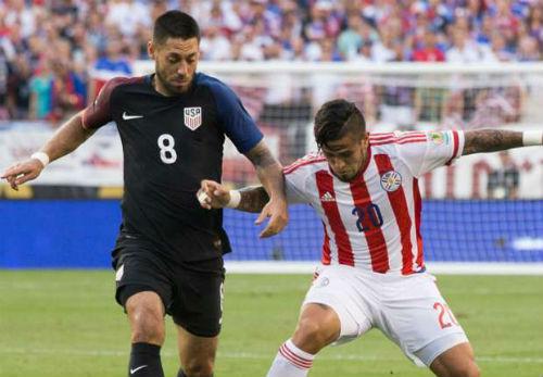 Video Mỹ vs Paraguay - 1