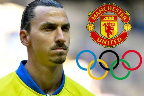 Sang MU, Ibrahimovic tính bỏ du đấu hè vì Olympic - 1