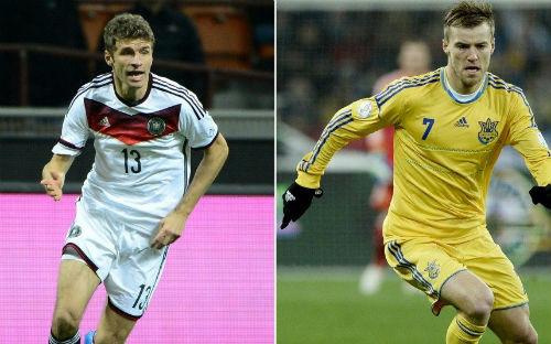Đức vs Ukraine - 1