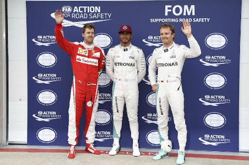 Phân hạng Canadian GP: Hamilton vượt Rosberg đoạt pole - 1