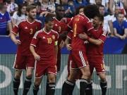 """Bóng đá - Tin nhanh EURO 12/6: Các cầu thủ Bỉ dọa """"đè bẹp"""" Italia"""