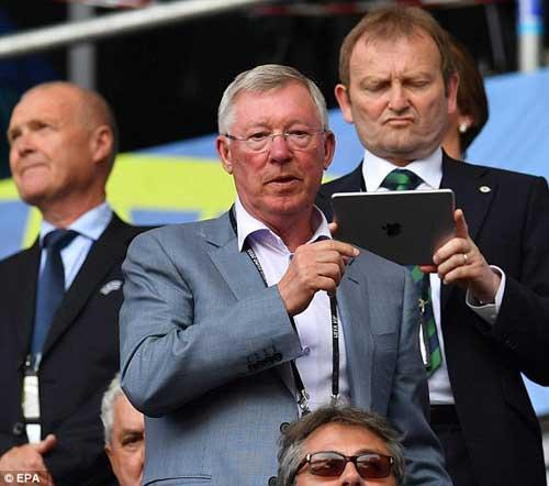 Sir Alex, fan nữ xinh khuấy động khán đài Euro - 3