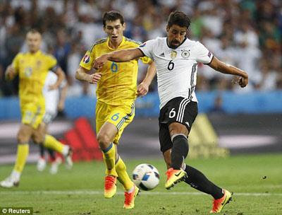 """Chi tiết Đức – Ukraine: Schweinsteiger ghi bàn """"kết liễu"""" (KT) - 10"""