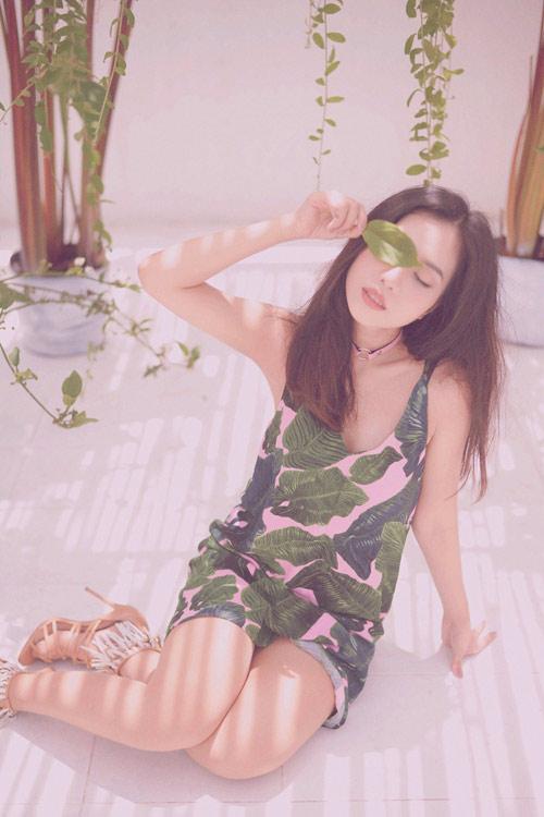 Hot girl gốc Thái Mai Fin khoe vẻ đẹp trong veo dưới nắng hè - 6