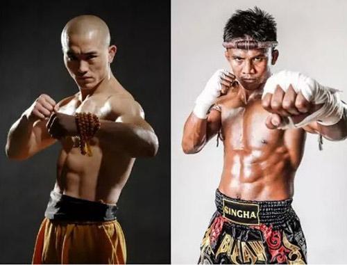 """So 6 múi: """"Đệ nhất Thiếu Lâm"""" hơn """"Thánh Muay Thái"""" - 1"""