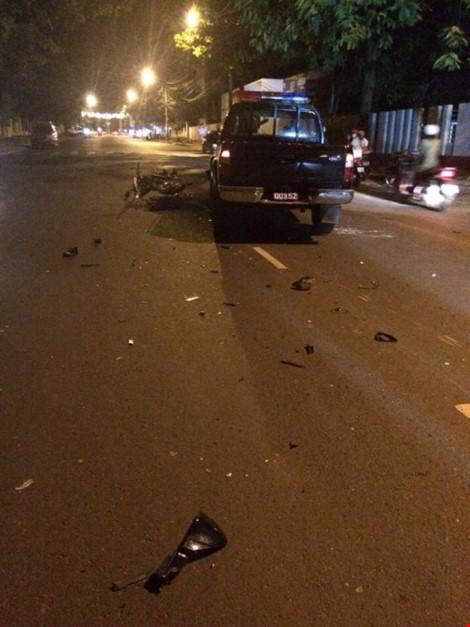 Xe cảnh sát 113 gây tai nạn chết người - 2