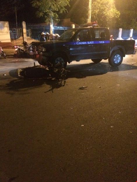 Xe cảnh sát 113 gây tai nạn chết người - 3