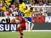 """Bóng đá - Copa America: Brazil bị loại vì bàn tay """"tử thần"""""""