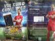Chạy xe tay ga phát tờ rơi mời… cá độ Euro 2016
