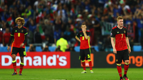 HLV Bỉ chê tuyển Ý đá quá thực dụng - 1
