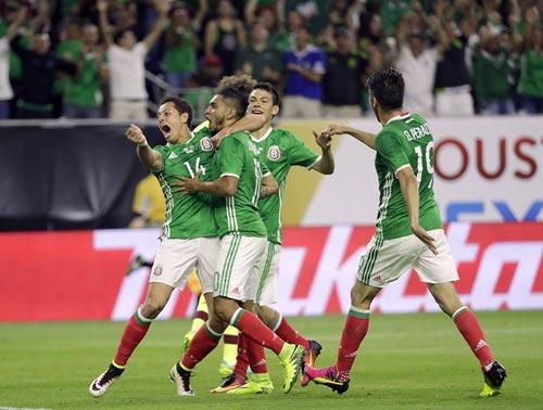 Video Mexico vs Venezuela - 1