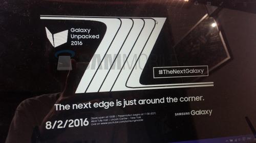 Ấn định ngày ra mắt Samsung Galaxy Note 7 - 1