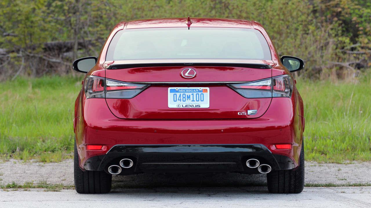 Xế sang Lexus GS F 2016: Phong cách mạnh mẽ và trẻ trung - 6