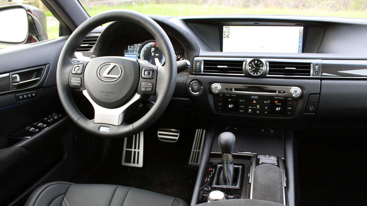 Xế sang Lexus GS F 2016: Phong cách mạnh mẽ và trẻ trung - 8
