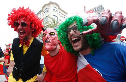 """Ảnh đẹp Euro 14/6: Bỉ ôm hận trước """"vua phản công"""" Italia - 9"""