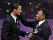 """Bóng đá - """"Vua bóng đá"""" Pele: Ronaldo bây giờ hay hơn Messi"""