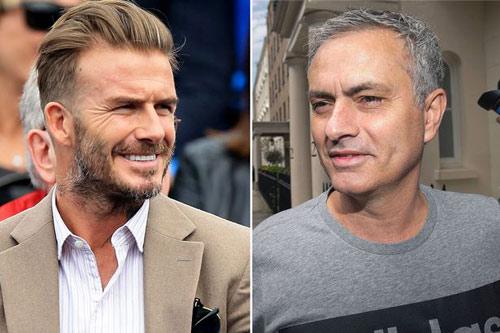 Becks muốn chào đón Mourinho tới Old Trafford - 1