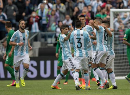 Video Argentina vs Bolivia - 1