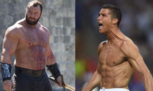 """""""Thần Thor"""" hả hê vì yểm bùa được Ronaldo - 1"""