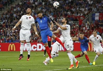 Pháp vs Albania - 3