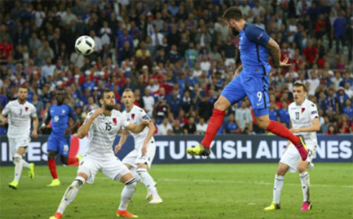 Video Pháp vs Albania - 1