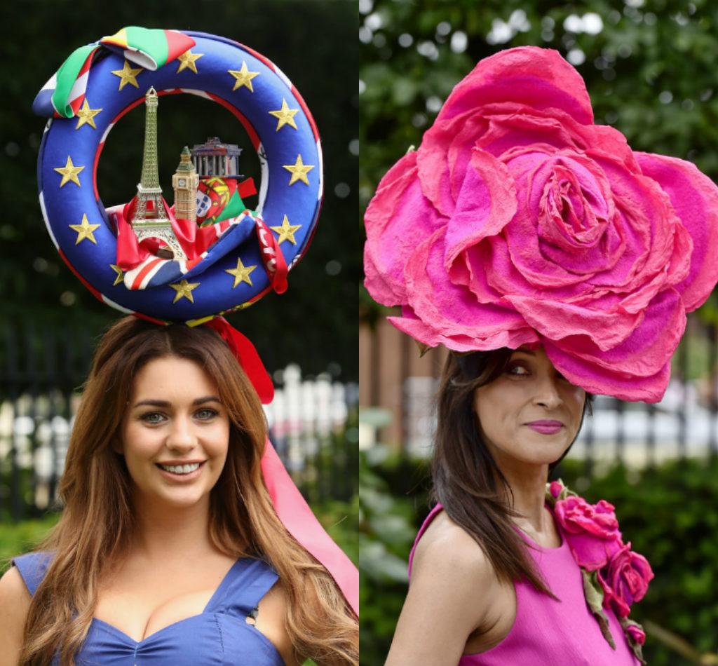 Bộ sưu tập mũ độc, lạ, hài hước ở trường đua ngựa Anh - 6