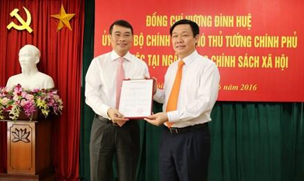 Ông Lê Minh Hưng kiêm giữ chức Chủ tịch Ngân hàng Chính sách XH - 1