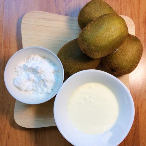 Tự làm kem kiwi - 1