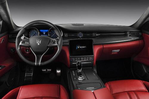Maserati Quattroporte 2017 lộ diện, thách thức Audi A8 - 3