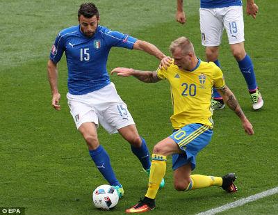 Chi tiết Italia - Thụy Điển: Quá muộn để cứu vãn (KT) - 5