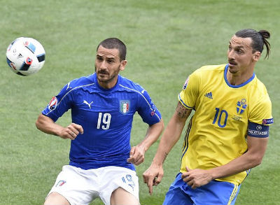 Chi tiết Italia - Thụy Điển: Quá muộn để cứu vãn (KT) - 4