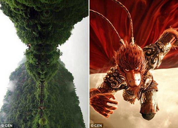 TQ: Núi thiêng có hình giống mặt Tôn Ngộ Không - 1