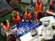 Video An ninh - Cận cảnh trục vớt mảnh vỡ máy bay CASA-212