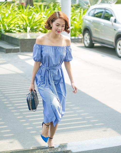 Minh Hằng ngày càng khéo mặc theo gu quyến rũ - 6