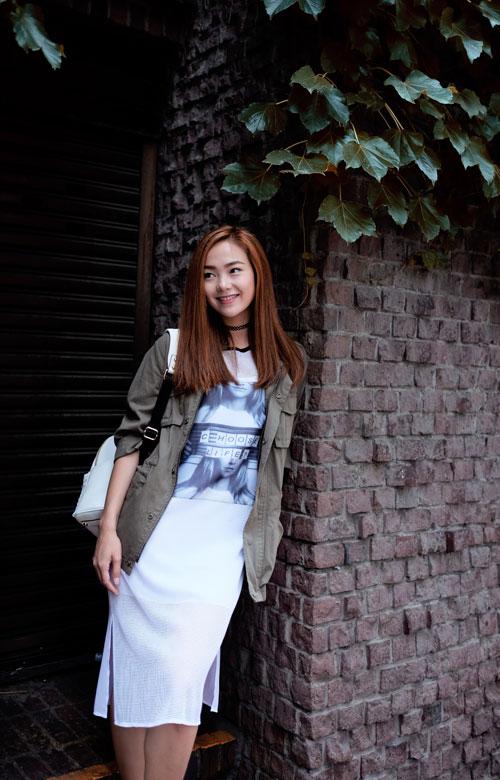 Minh Hằng ngày càng khéo mặc theo gu quyến rũ - 13