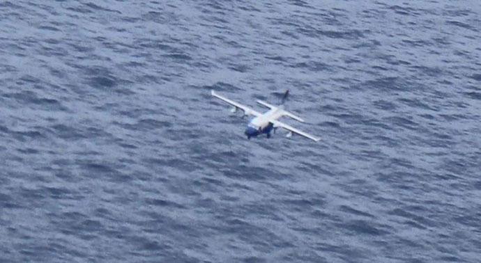 Thêm hình ảnh về CASA-212 trước khi lao xuống biển - 1