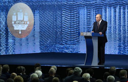 Tổng thống Putin thừa nhận Mỹ là siêu cường duy nhất - 1