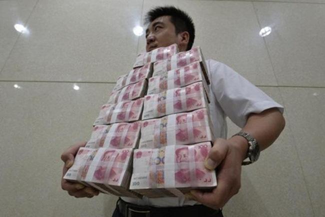 Trung Quốc: Nợ cao hơn gấp đôi GDP - 1