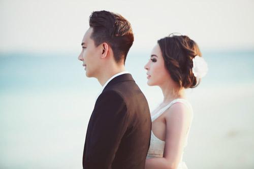 """Ảnh cưới lãng mạn tại Maldives của """"hot girl dao kéo"""" - 5"""