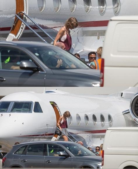 Khám phá hai chiếc phi cơ siêu sang của Taylor Swift - 13