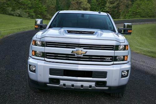 """2017 Chevrolet Silverado HD """"khác người"""", gắn lỗ thở đỉnh ca-pô - 3"""