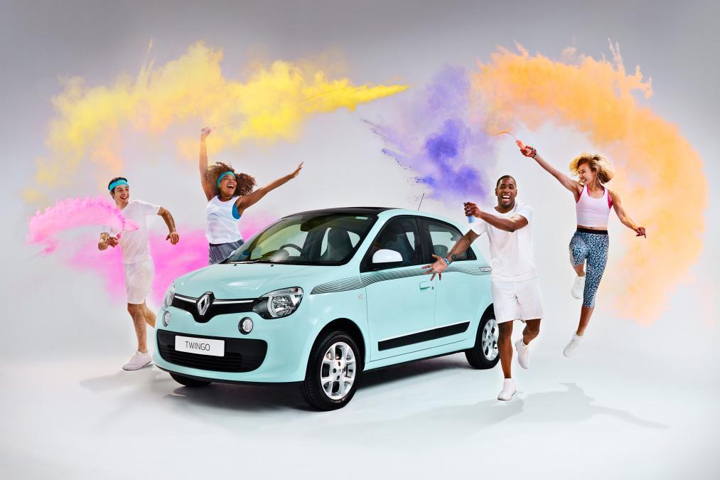 """Ngắm Renault Twingo """"The Color Run"""" bản đặc biệt mới - 1"""
